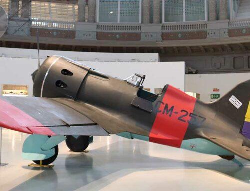 El MNAC exposa la reconstrucció de dos avions que van participar en la Guerra Civil a 'Aeronàutica (vol) interior'