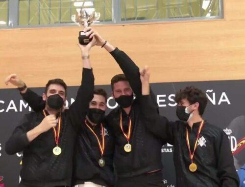 La Sala d'Esgrima d'Amposta fa història al guanyar el Campionat d'Espanya per equips i la Lliga Nacional en una mateixa temporada