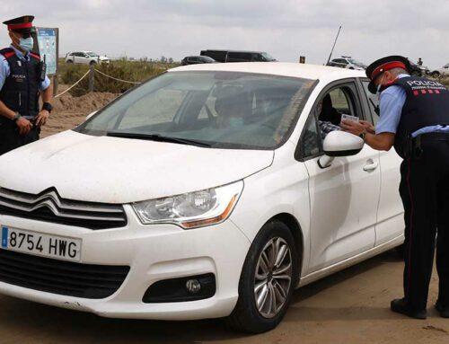Més de 1.200 vehicles passen el primer control que vol conscienciar els visitants d'un ús sostenible al Delta de l'Ebre