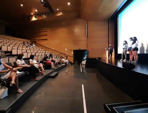 L'alumant de 3r. d'ESO de l'INS els Alfacs de la Ràpita presenten les propostes del projecte #STOPCOVID