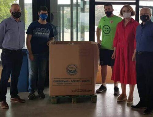 El CFS Tortosa recull més de 1.000 quilos per al Banc dels Aliments