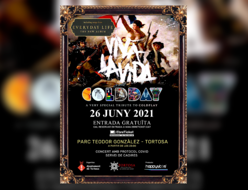 Tortosa donarà la benvinguda a l'estiu el 26 de juny amb un concert de la banda de tribut a Coldplay