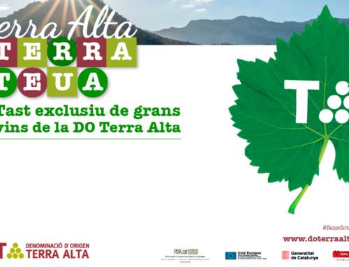 Els vins de la DO Terra Alta tornen a Barcelona per participar d'un tast exclusiu