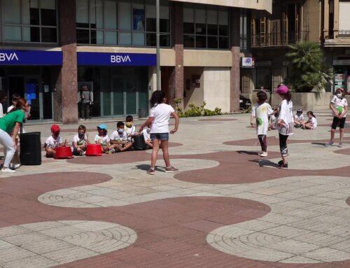 Alumnes de l'Escola Sant Llàtzer reivindiquen arbres autòctons a les ciutats