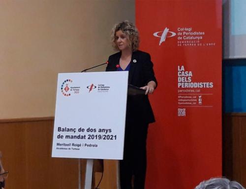 Roigé projecta el seu futur i el de Tortosa més enllà del 2023