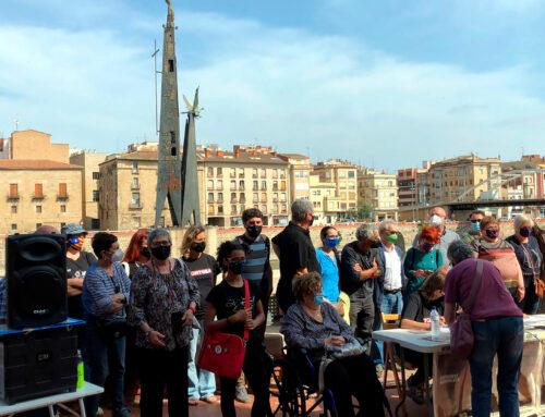 Disset associacions memorialistes de Catalunya, València i Balears demanen retirar el monument franquista de Tortosa