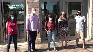Inauguració 'Art Per a Tu' a Sant Carles de la Ràpita