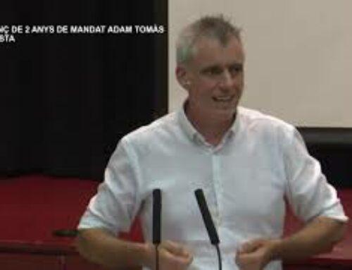 Balanç de 2 anys de mandat d'Adam Tomàs, alcalde d'Amposta