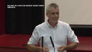 Balanç de 2 anys de mandat d'Adam Tomàs