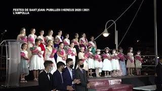 Festes de Sant Joan: Presentació i proclamació de pubilles i hereus 2020 i 2021 a l'Ampolla