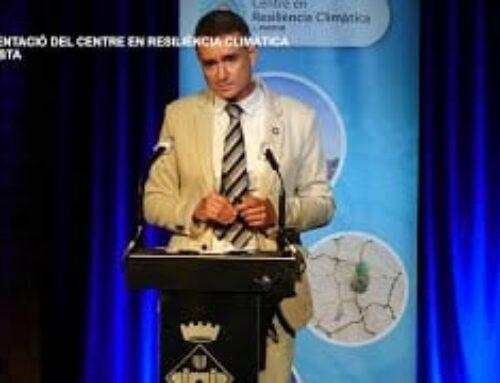 Presentació del Centre en Resiliència Climàtica a Amposta