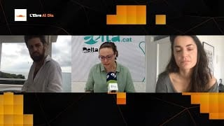 L'Ebre al Dia. Entrevista a Josep Piñol i Greta Díaz