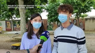 L'institut Sòl-de-Riu d'Alcanar estudia els plàstics que han recollit al Catalunya CleanUp Challenge
