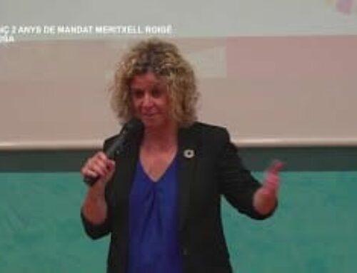 Balanç de 2 anys de mandat de Meritxell Roigé, alcaldessa de Tortosa