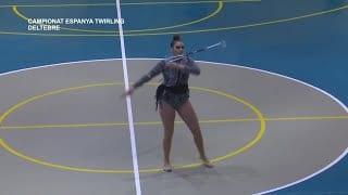 Semifinal del Campionat d'Espanya de Twirling a Deltebre