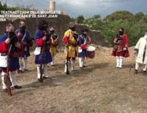 Visita Teatralitzada dels Miquelets al Fortí de Bonet i les Avancades de Sant Joan a Tortosa
