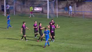 Els gols del partit Corbera-Ebre Escola (0-3)