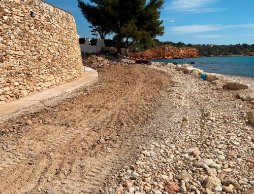L'Ajuntament de l'Ampolla finalitza les obres de millora del carrer Rave de Mar del barri del Baconé