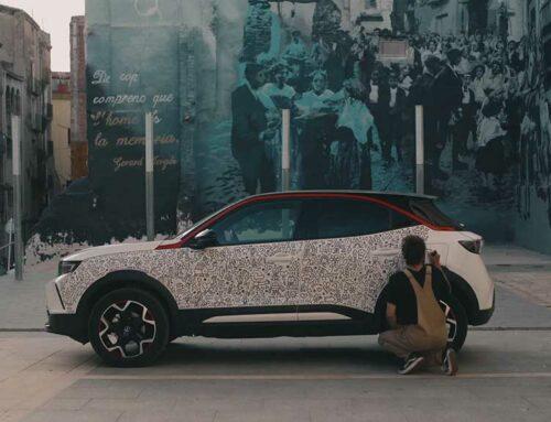 L'artista ebrenc Hernan en H il·lustra el nou Opel Mokka