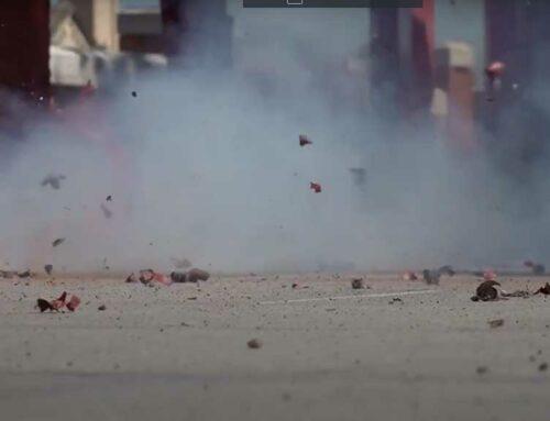 Una tortosina engega una campanya virtual per demanar la regulació del llançament de petards a la ciutat