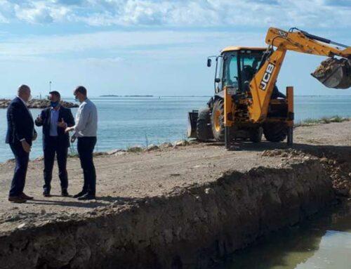Ports inicia la construcció de la base nàutica al port de Sant Carles de la Ràpita