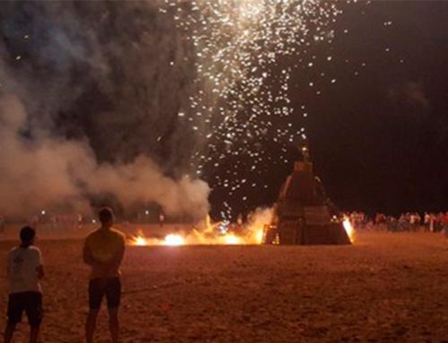 La Ràpita organitza la revetlla de Sant Joan amb foguera i música a la vora de la mar