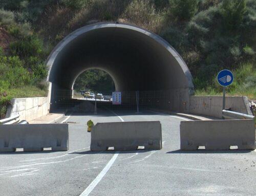 Arrenca la construcció d'un pas alternatiu a la carretera T-333, tallada per una fissura en un túnel