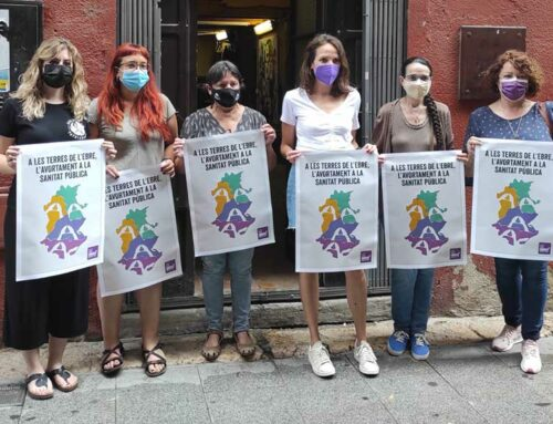 La campanya per l'avortament lliure arriba als plens de les Terres de l'Ebre
