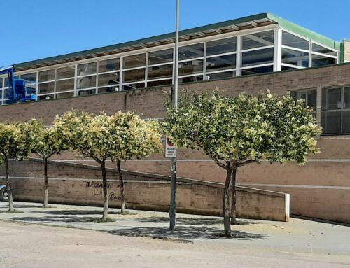 Finalitzen les obres a la coberta del pavelló d'Alcanar per a eliminar les goteres