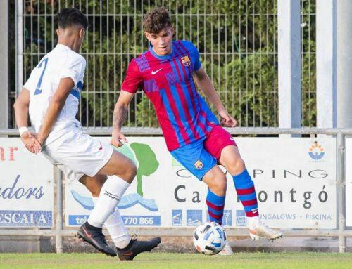 L'ampostí Arnau Solà debuta amb el Barça B