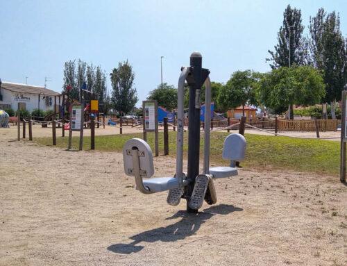L'Ampolla renova els panells informatius del Parc Salut de l'Arenal afegint un codi QR on s'explica com utilitzar cada aparell