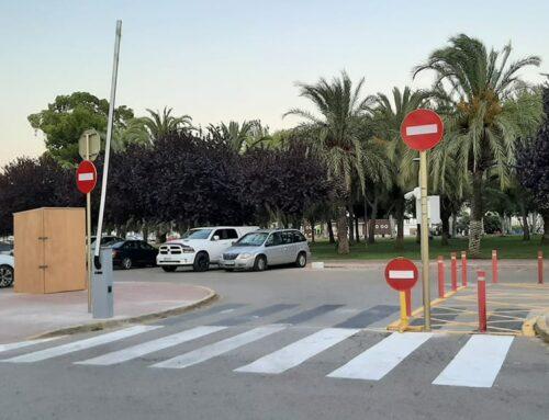 La Ràpita posa en funcionament l'estacionament limitat i el control horari a la zona d'aparcament del Parc de Garbí