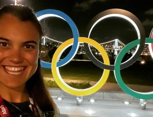 Aina Cid ja es troba a Tòquio preparada per afrontar els seus segons Jocs Olímpics