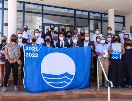 L'Ampolla acull l'acte d'entrega de les 22 banderes blaves a ports catalans