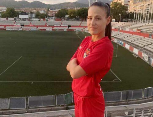 La davantera aldeana Carla Ventura torna a l'EFF Manu Lanzarote de Terrassa