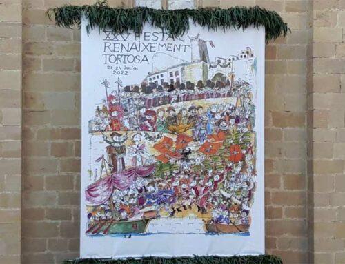 El Ban de la Festa del Renaixement de Tortosa dona a conèixer el cartell commemoratiu de la 25a. edició