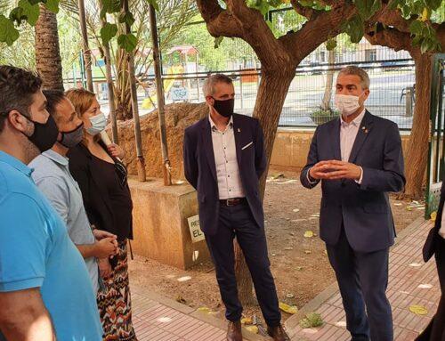 El conseller d'educació anuncia la construcció d'un gimnàs a l'Escola Soriano Montagut d'Amposta