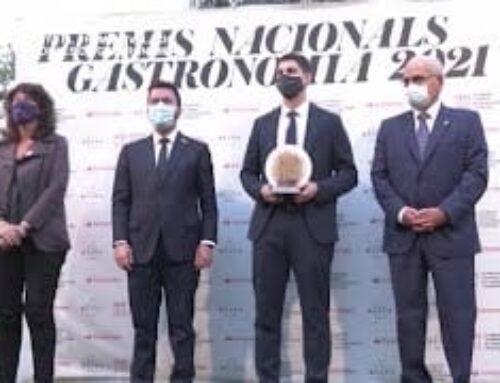 Rafel Múria Guanya el Premi Revelació dels Premis Nacionals de Gastronomia