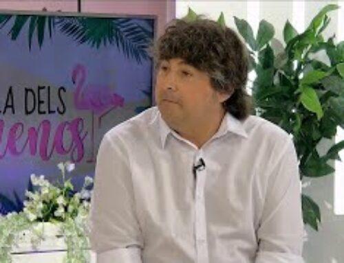 L'Illa dels Flamencs amb el comunicador Francesc Callau