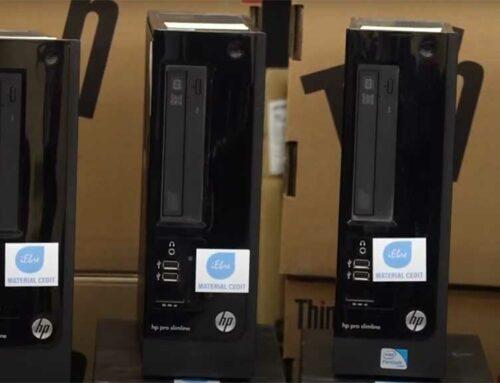 L'Institut de l'Ebre repara i entrega una quarantena d'ordinadors a escoles amb pocs materials