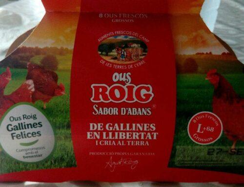 L'empresa tortosina Ous Roig, a punt de tancar la seua venda a un fons inversor