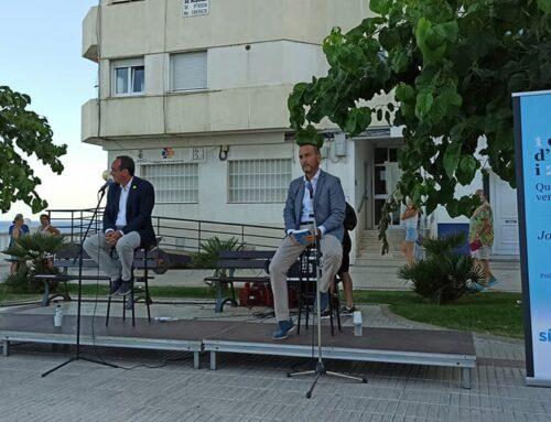 Josep Rull presenta a l'Ametlla de Mar el llibre '1 dia d'octubre i dos poemes', escrit des de la presó