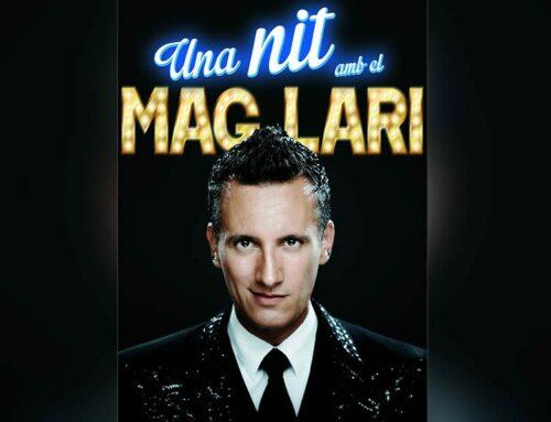 Els amants de la màgia podran passar 'Una nit amb el Mag Lari' el 18 de setembre al teatre auditori Felip Pedrell