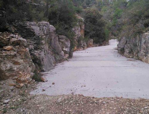 Denuncien un formigonat que l'Associació de Defensa Forestal de Tivissa va fer al barranc de Jovara el 2018