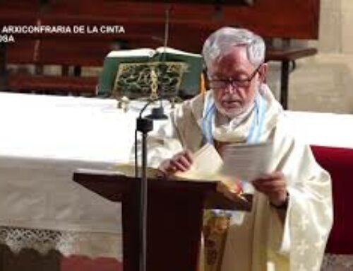 Missa Dominica Real Arxiconfraria de la Cinta de Tortosa. Diumenge 1 de juliol