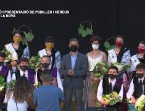 Festes Majors Móra la Nova: Pregó i presentació de pubilles i hereus