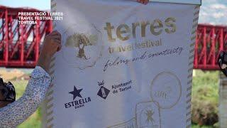 Presentació del Terres Travel Festival 2021 a Tortosa
