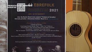 Presentació 6è Ebrefolk a Roquetes