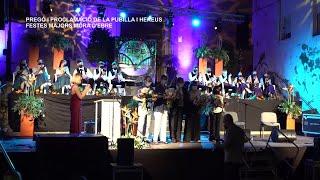 Festes Majors 2021 Móra d'Ebre: Pregó i Proclamació de la Pubilla