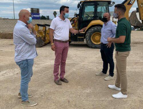 Comencen les obres de millora de l'entorn de les instal·lacions esportives Josep Maria Torres a Jesús i Maria